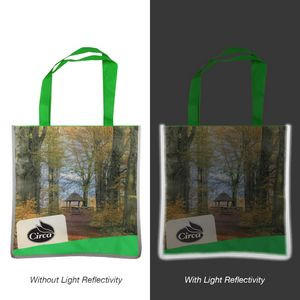 Custom Reflective Edge Tote Bag
