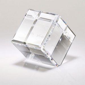 Corda I Small Edge Crystal Block Award