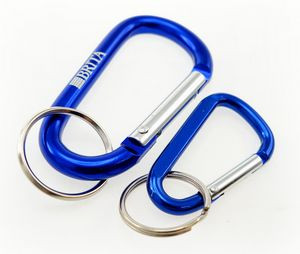 Imported Mini Laser Engraved Carabiners