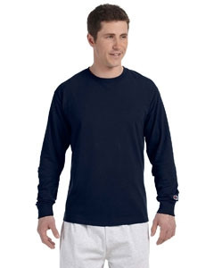 Champion® 5.2 Oz. Long-Sleeve Tagless T-Shirt