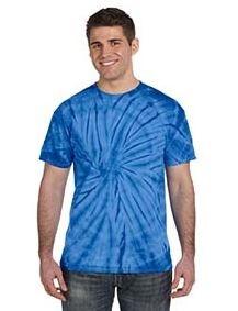 Tie-Dye Adult 5.4 Oz., 100 percent Cotton Tie-Dyed T-Shirt (Spider)