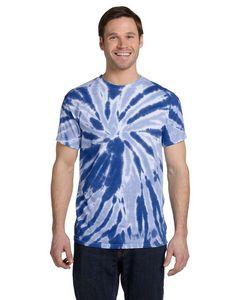 Tie-Dye 5.4 Oz. 100 percent Cotton Twist Tie-Dyed T-Shirt