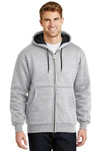 Cornerstone® Men's Heavyweight Full-Zip Hooded Sweatshirt w/Thermal Lining