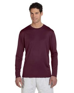 Champion® 4.1 Oz. Double Dry® Long-Sleeve Interlock T-Shirt