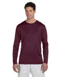 Champion® 4.1 Oz. Double Dry® Long-Sleeve Interlock T-Shirt