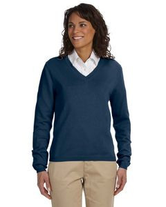 Devon & Jones® Ladies' V-Neck Sweater