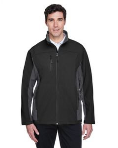 Devon & Jones® Men's Soft Shell Colorblock Jacket