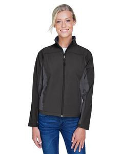 Devon & Jones® Ladies' Soft Shell Colorblock Jacket