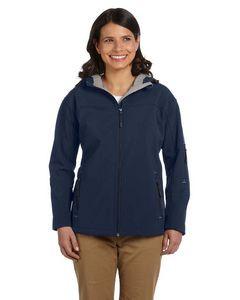 Devon & Jones® Ladies' Hooded Soft Shell Jacket
