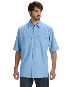 DRI DUCK Men's 100% Polyester Short-Sleeve Fishing Shirt