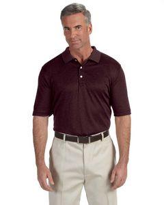 Devon & Jones® Men's Pima-Tech Jet Pique Heather Polo Shirt