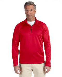 Devon and Jones Men's Stretch Tech-Shell® Compass Quarter-Zip