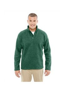 Devon and Jones Adult Bristol Sweater Fleece Quarter-Zip