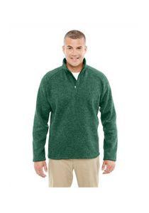 Devon & Jones® Men's Bristol Sweater Fleece Quarter-Zip Shirt