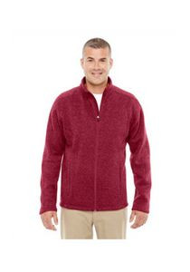 Devon & Jones® Men's Bristol Full-Zip Sweater Fleece Jacket