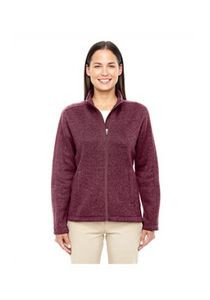 Devon & Jones® Ladies' Bristol Full-Zip Sweater Fleece Jacket