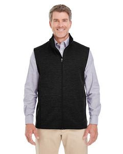 Devon & Jones® Men's Newbury Mélange Fleece Vest