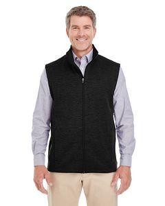 Devon & Jones® Men's Newbury Mélange Fleece Vest