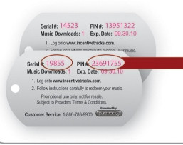 Full Color Plastic Dog Tag w/ Variable Data