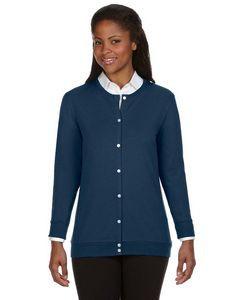 Devon & Jones® Ladies' Perfect Fit Ribbon Cardigan