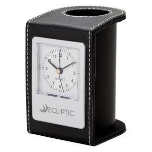 Desk Clock & Pen Holder