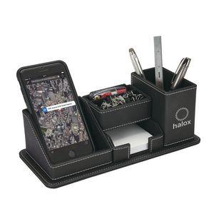 Oxford Desk Organizer w/Phone Holder