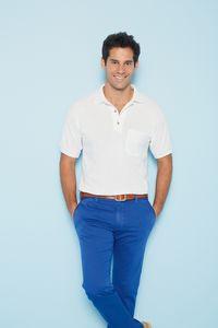 Gildan® DryBlend® Adult 6 Oz. 50/50 Jersey Polo Shirt w/Pocket