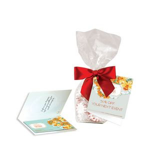 Gift Bag w/ Magnet, Striped Peppermints