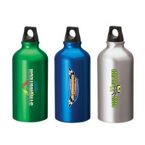 16.9 oz. Aluminum Flask Water Bottle w/ Twist Top