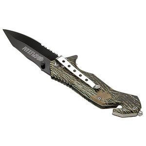 Nutwood Camo Rescue Knife