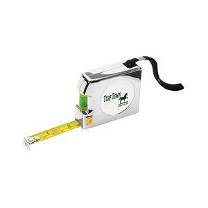 Shorewood 12 Foot Chrome Tape Measure & Level