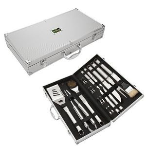 Central Park 18 Piece Steel BBQ Set