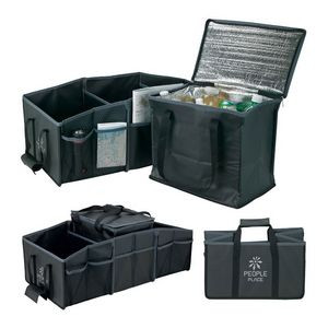 Jumbo Trunk Organizer w/Removable Cooler