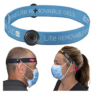 "3/4"" Wide ""Mask Master"" Ear Saver Headband"