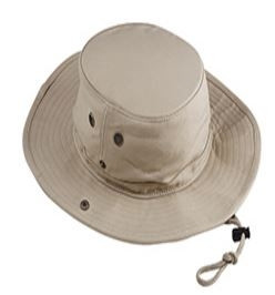 Big Accessories Canvas Outlander Cap