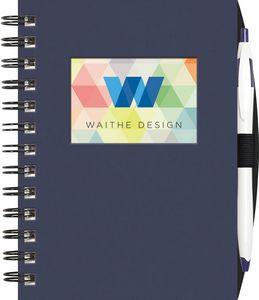 "Small Value WindowPad™ ValueLine Notebook w/PenPort & Cougar Pen (5""x7"")"
