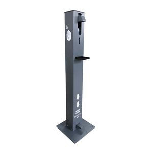 Touch-Free Pedal Hand Sanitizer Floor Stand