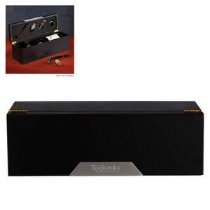 Matte Black Wine Box