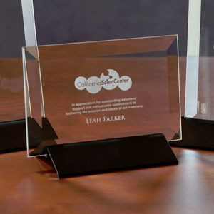 Epoch Horizontal Medium Glass Award