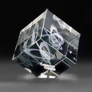 3D Crystal Jewel Cube Medium Award