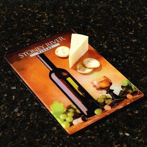 Full Color Glass Cutting Board