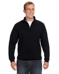 J AMERICA Adult Heavyweight Fleece Quarter-Zip