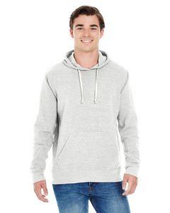 J. America Adult Triblend Pullover Fleece Hoodie