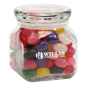 Standard Jelly Beans in Small Glass Jar