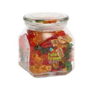 Gummy Bears in Medium Glass Jar
