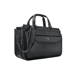 Solo® Classic Triple Compartment Briefcase