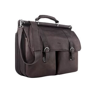 Solo® Executive Leather Briefcase