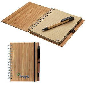 Bamboo Notebook w/ Bamboo Ballpoint Pen