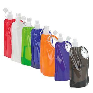 25 oz. Handled Roll Up PE Water Bottle