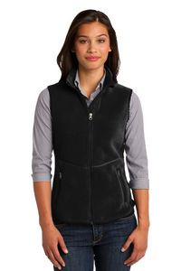 Port Authority® Ladies' R-Tek® Pro Fleece Full-Zip Vest